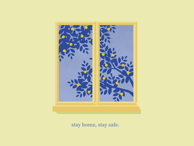 Stay Home Stay Safe stay home graphic design vector illustration