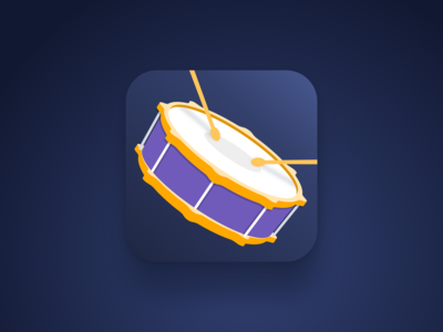 Icon for drums app