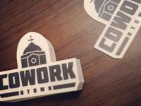 Cowork Btown Stickers