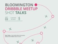 Bloomington Dribbble Meetup
