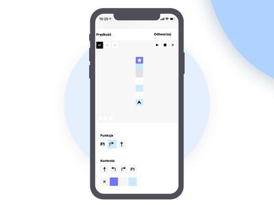 Programming game for C_school web ux mobile app icon design ui