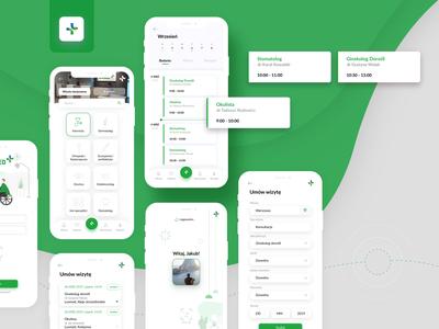 Doctor Consultation App logo ux mobile app icon design ui