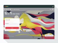 Otis College - My Otis Login Redesign foundation adobe xd ux research web design front-end development user experience