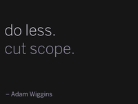 Adam Wiggins Quote