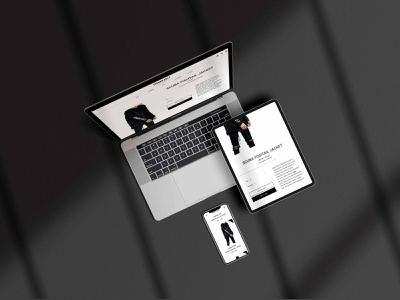 Higher Self Brand branding typography creative director web website portfolio design ux web design ui