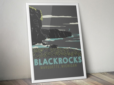 The Marquette Project : Blackrocks - The Poster