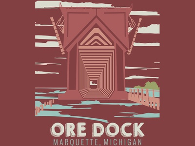 The Marquette Project : Ore Dock - The Design