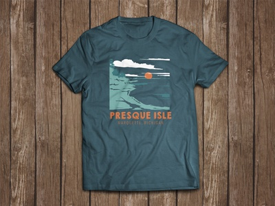 The Marquette Project : Presque Isle - The Shirt