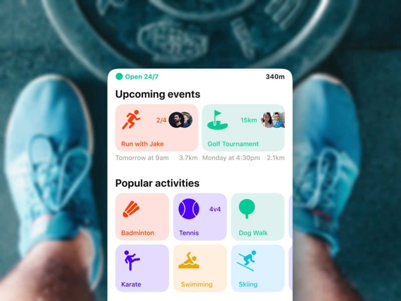Is it time for a gym revolution? 🤔 heath user experience user interface gym app gym fitness fitness app