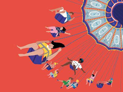 Luna Park illustration