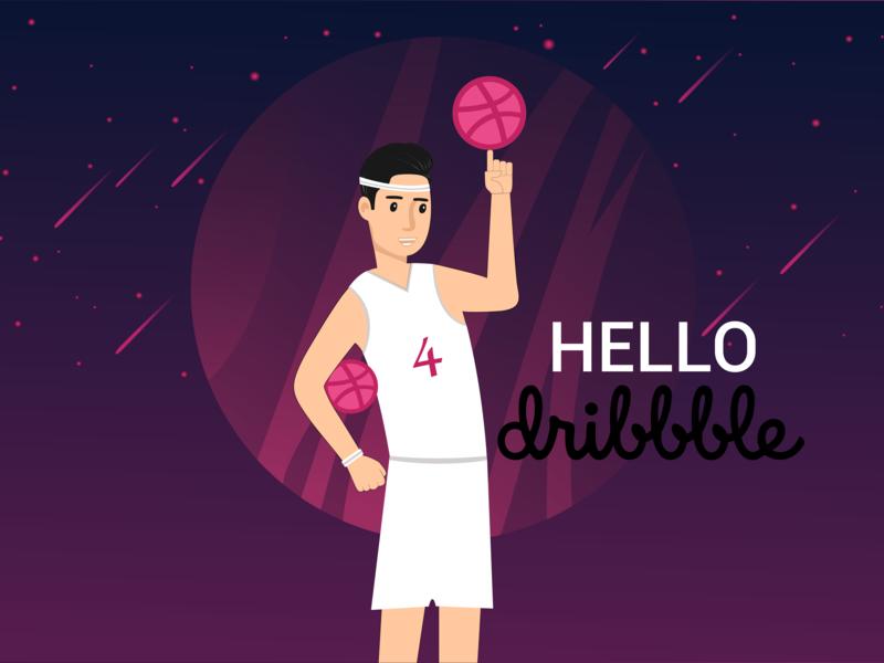 Hello shot firstshot dribbble invite dribbble hello hello-dribbble hellodribbble hello dribble