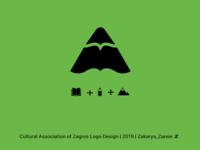 Cultural Association of Zagros logo design