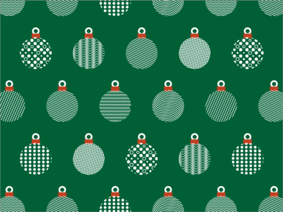 Holiday Ornaments Pattern