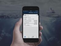 Ferry app concept