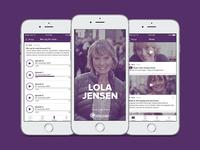 Lola Jensen - family counselor app