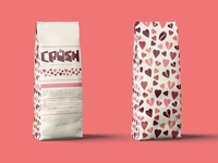 Crush Coffee Company Packaging