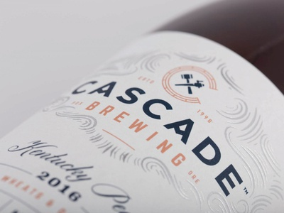 Cascade Brewing - Label Detail