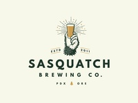 Sasquatch Brewing Co. - Logo