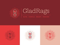 GladRags - Logo Variants