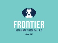 Frontier Veterinary Hospital - Logo