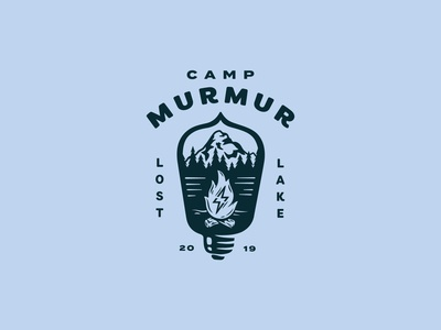Camp Murmur - Event Logo