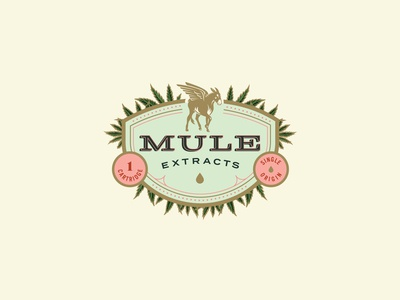 Mule Extracts - Packaging Badge