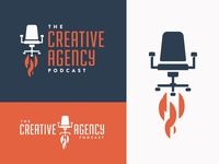 The Creative Agency Podcast - Logo Variations
