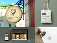 Magnolia Antique Bookstore - Collateral