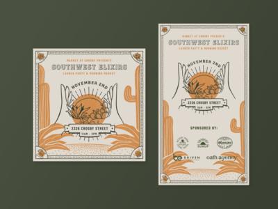 Market at Crosby / Southwest Elixirs Flyer