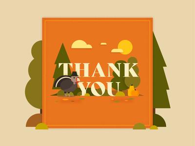 Thanksgiving 2019 Illustration