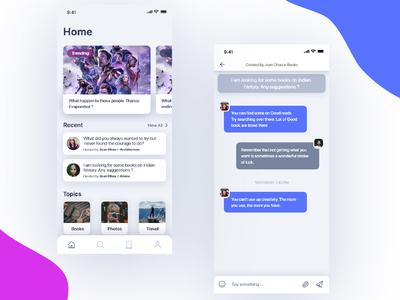 Chat Room App Screen