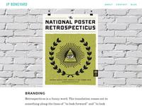 JPBoneyard.com Responsive Redesign (Project Page)