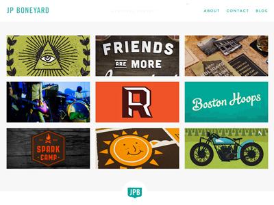 JPBoneyard.com Responsive Redesign jpboneyard responsive web design