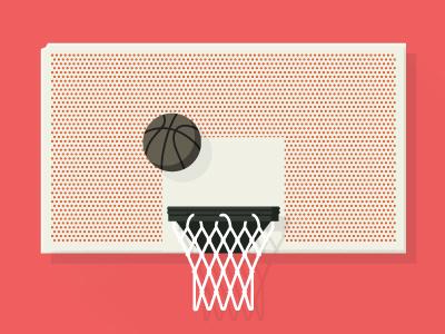 Boston Hoops - Hoop no. 2 - Reggie Wong Park - Chinatown boston hoops boston hoops jp boneyard basketball illustration shadow stuff and junk fenway