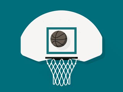 Boston Hoops - Hoop no. 11 - Cronin Playground - Dorchester dorchester shadow illustration basketball jp boneyard boston hoops hoops boston