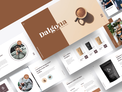 DALGONA – Coffee Shop & Cafe Powerpoint Template people mocha milk korean drink hipster espresso cup cream coffee beans coffee cappuccino caffeine cafe black beverage barista bar