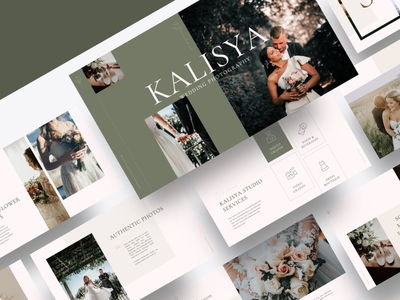 KALISYA – Wedding Photography Powerpoint Template romantic photography powerpoint party nature marriage love invitation green garden flower floral elegant design decorative decoration celebration card bride bouquet beautiful