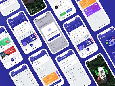 biPay - eWallet App UI Kit e-wallet digital finance financial ux ui fintech banking app wallet app finance app digital wallet ui kit ui kit