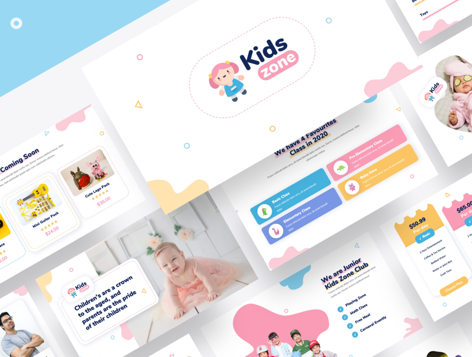 Kid Powerpoint Template from cdn.dribbble.com