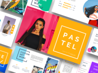 Pastel Pop Art & Graffiti Powerpoint Template