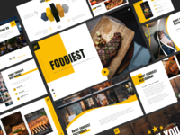 Foodiest Food & Beverages Powerpoint Template