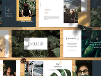 SINCKA Tropical Vibes Powerpoint Template