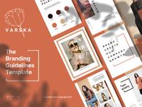 VARSKA - Powerpoint Brand Guidelines Template