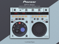 Pioneer EFX-500 plug-in for Logic X and App for iPad