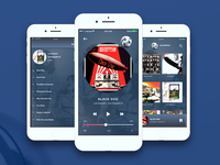 CNCPT iOS Music Player for iPhone and Apple Devices