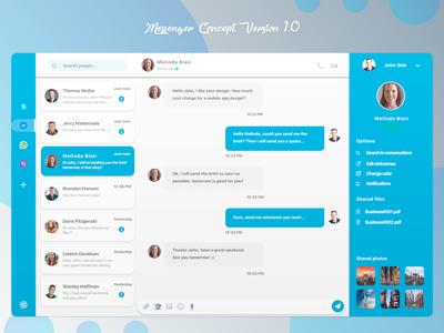 Messenger Concept Version 1.0