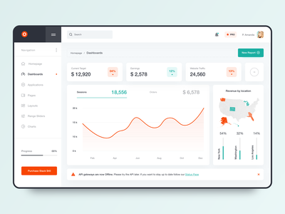 Dashboard Interface Design analytics colors georgia giomak user experience user interface adobexd desktop app webdesign dashboard design dashboard ui dashboad uxdesign uidesign ux ui