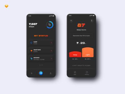 Mobile App For Fitness Tracker