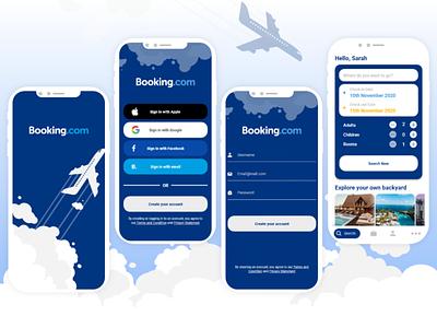 Booking App mobile ui mobile app booking redesign