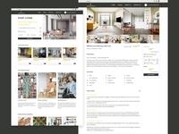 Lemon Spaces illustration design uiux listing rental webdesign ui  ux design interface ecommerce sketch uidesign